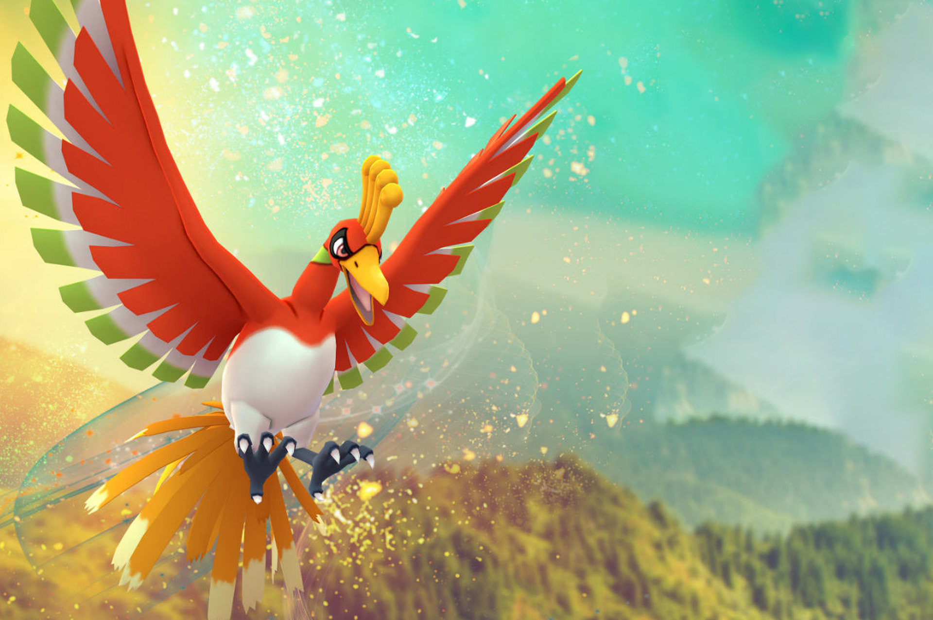 Ho-Oh Guide Image