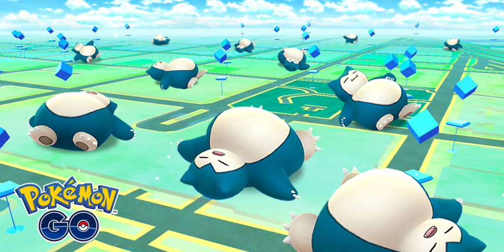 sleeping snorlax